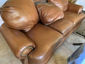 Brown couch for Sale in Mesa, AZ