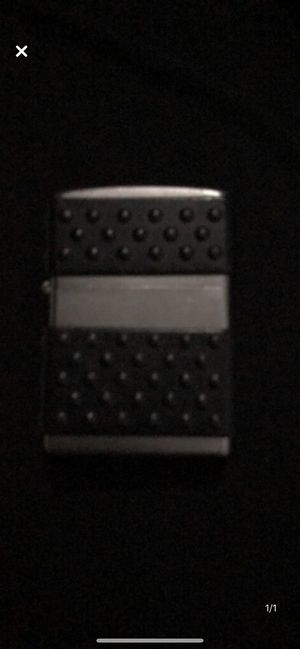 Silver and Black Zippo for Sale in Nashville, TN