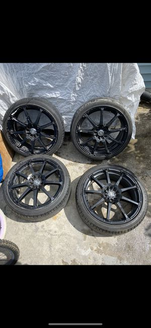 Enkei EDR9 18x7.5 Rims for Sale in Allentown, PA