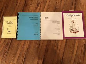 Writing strands level 1 through 4 for Sale in Corona, CA