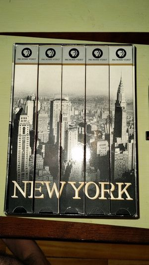 New York PBS Documentary 1999 VHS for Sale in Arlington, MA