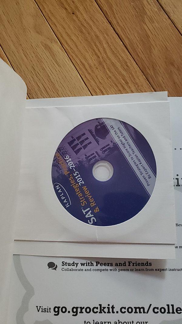 Kaplan SAT with DVD