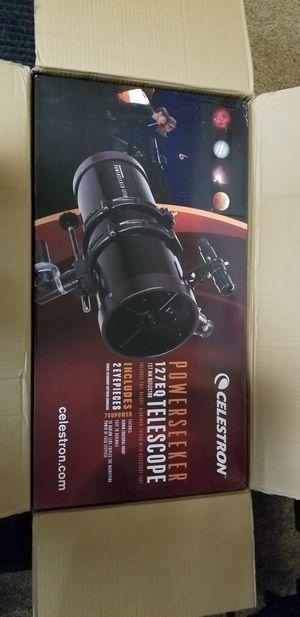 Celestron powerseeker 127eq Telescope for Sale in San Antonio, TX
