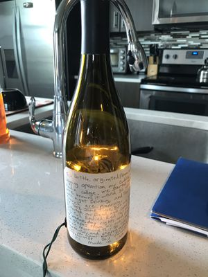 Rare Wine bottle decorative lamp for Sale in San Antonio, TX