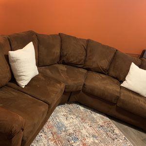 Very comfortable Brown Sectional for Sale in Atlanta, GA