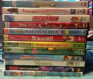 (12) DVD movies for kids for $20.00 for Sale in Chesapeake, VA