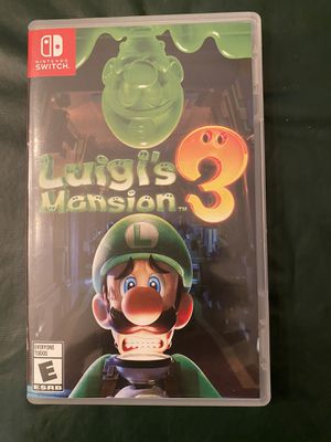 Luigi's Mansion 3 for Switch for Sale in Syosset, NY