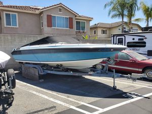 1989 mirage 21' open bow boat selling today for Sale in Rialto, CA