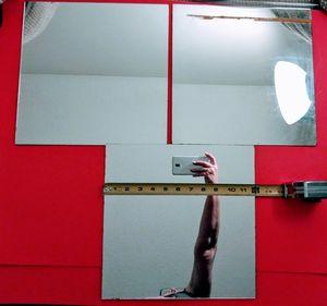"""Mirror squares 12"""" x12"""" , straight flush mount edges, DIY ESPEJOS for Sale in Rialto, CA"""