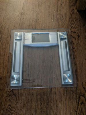 Digital Body Weight Bathroom Scale with Body Tape Measure, 8mm Tempered Glass, 400 Pounds for Sale in Los Angeles, CA