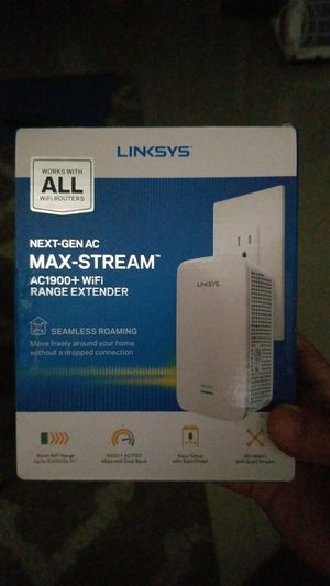 Lynksys wifi extender for Sale in El Centro, CA