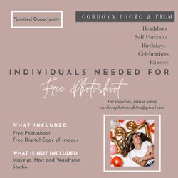 FREE PHOTOSHOOTS for Sale in Deer Park,  TX
