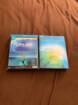 BBC Earth Bundle. (Planet Earth/Blue Planet.) for Sale in Pasco, WA