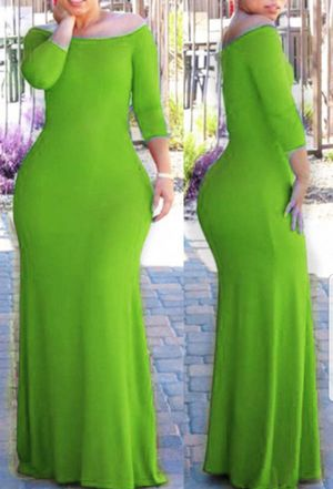 💚Fitted Bohemian Green Maxi Dress for Sale in Durham, NC