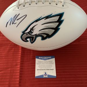 Michael Vick Signed Autographed White Panel Eagles Football Beckett COA for Sale in San Diego, CA