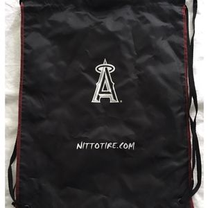 LA angels baseball drawstring BACKPACK TOTE CINCH BAG for Sale in Santa Ana, CA