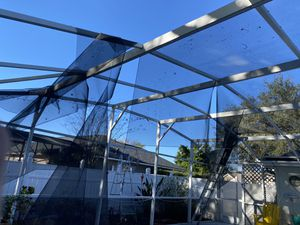 Screen pool mesh replacement for Sale in Kissimmee, FL