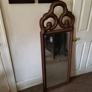 Brown wall mirror for Sale in Philadelphia, PA