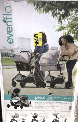 Evenflo Pivot Modular Travel System 🌸 for Sale in Long Beach, CA
