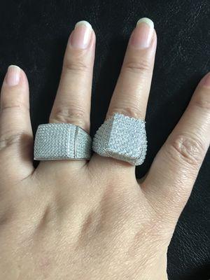 Men's 925 sterling silver ring (size 11)($47 each) for Sale in Philadelphia, PA