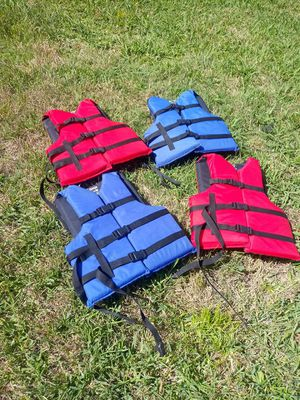 Adult life jackets for Sale in Richardson, TX