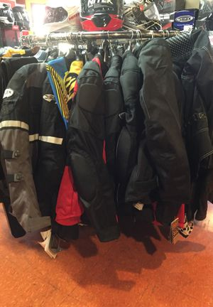 New motorcycle armor jacket s $100 and up for Sale in Whittier, CA