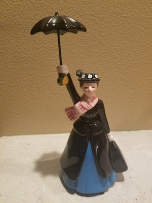 Disney vintage porcelain Mary Poppins why did last night for Sale in Gresham, OR