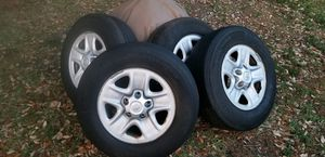 4 used Toyota Tundra stock rims and tires P255/70R18 for Sale in Gulf Breeze, FL