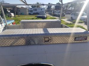 2 tool boxes with key $165 for Sale in Dinuba, CA
