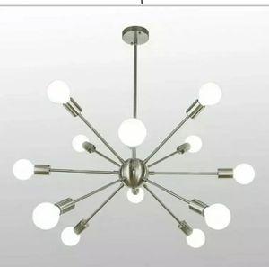 Industrial Sputnik Chandelier Indoor Pendant Lighting Ceiling Fixture 12-Lights. for Sale in Fort Lauderdale, FL