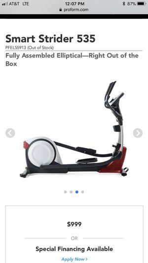 Pro-form elliptical machine for Sale in Tarpon Springs, FL