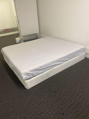 California-king foam mattress/boxspring! for Sale in Los Angeles, CA
