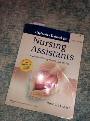 Nursing Assistants Book Pamela J. Carter for Sale in Auburn, WA