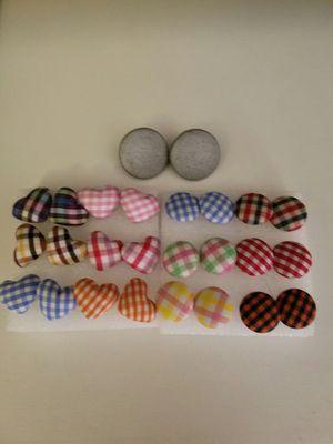 Button earrings for Sale in Rockville, MD
