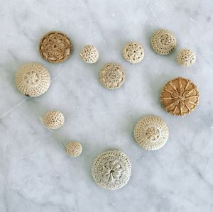 Antique Irish Crocheted Buttons for Sale in Portland, OR