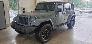 2015 Jeep Wrangler Sahara Unlimited for Sale in Glen Raven, NC
