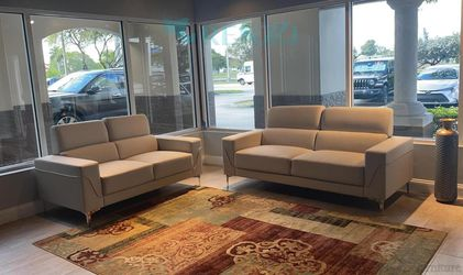 <!> 2pcs Sofa Set $1099 / {Financing Available} for Sale in Doral,  FL