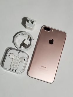 iPhone 7 Plus, ∆|Factory Unlocked & iCloud Unlocked..Full fresh Like New & This phone comes with accessories... for Sale in Springfield,  VA