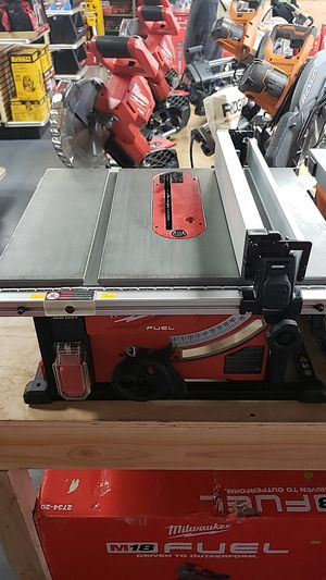 Milwaukee M18 fuel table saw for Sale in Westminster, CA