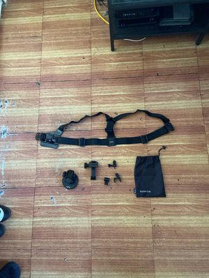 Go Pro Chest Harness and Suction Cup Mount for Sale in Tampa, FL