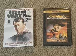 John Wayne DVD Collection for Sale in Fort Worth, TX