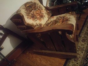 Wooden rocking chair for Sale in Northumberland, PA