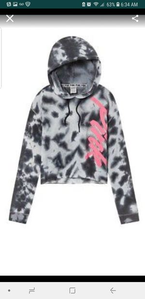 VS PINK GRAY FOG HOODIE for Sale in Adelphi, MD