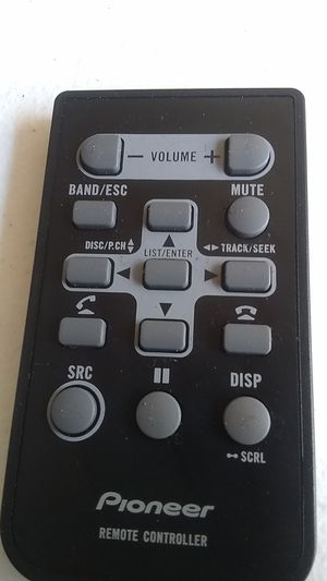 - Pioneer QXE1044 Remote Control for Car Radio Receiver CD Player for Sale in Los Angeles, CA