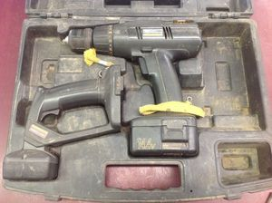 Cordless drill and flashlight craftsman 14.4V as-is for Sale in Columbus, OH
