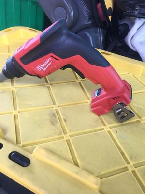 Milwaukee drywall screwer for Sale in San Jose, CA
