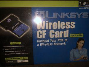 Linksys wireless CF card for Sale in HUNTINGTN STA, NY