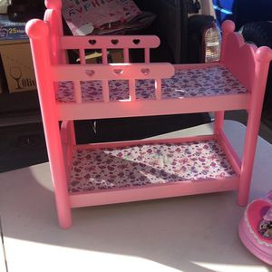 """Baby Doll Bunk Bed For 14"""" Dolls for Sale in Albuquerque, NM"""