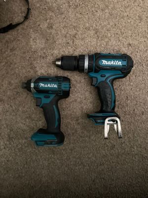 Makita power tool set drill and driver for Sale in Beaverton, OR