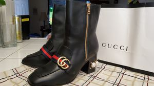 Gucci Black leather ankle boots for Sale in Corona, CA
